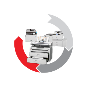 Create, Receive, Process, Distribute, Archive, Retrieve, Print
